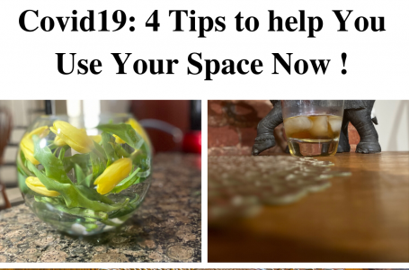 Creating Content during Covid19: 4 Tips to Help You Use Your Space Now!
