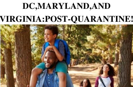 20+ hiking places in DC, Maryland, and Virginia: Post-Quarantine.