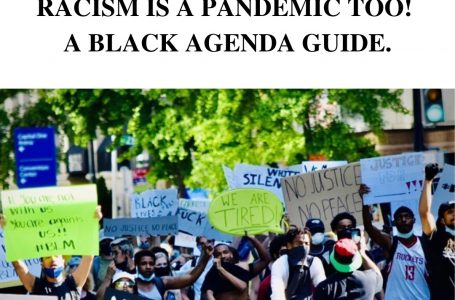 RACISM IS A PANDEMIC TOO! A BLACK AGENDA GUIDE.