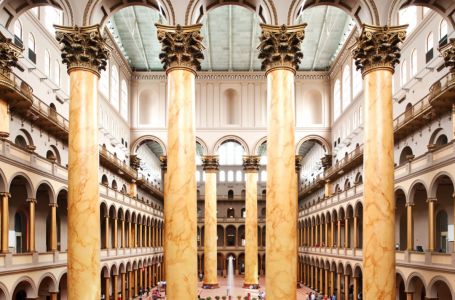 Washington, DC Prominent landmark is set to re-open: The National Building Museum Announces April 9th Reopening.